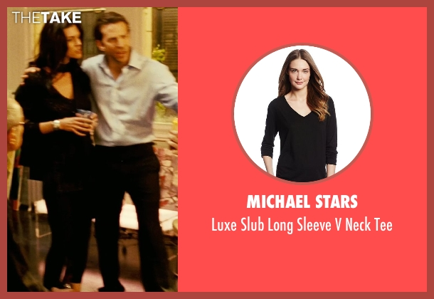 Michael Stars black tee from Limitless seen with Unknown Actor (Unknown Character)