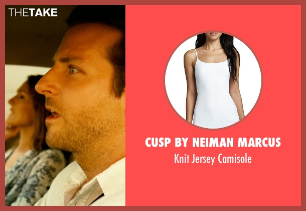 Cusp by Neiman Marcus	 white camisole from Limitless seen with Unknown Actor (Unknown Character)
