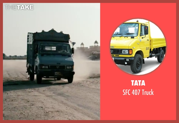 TATA truck from London Has Fallen seen with Unknown Actor (Unknown Character)