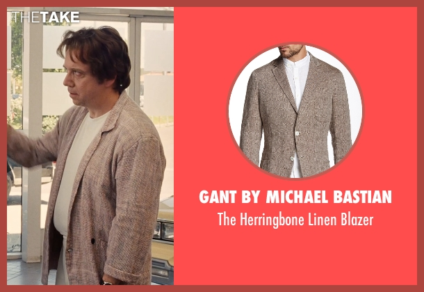 Gant by Michael Bastian beige blazer from Love & Mercy seen with Unknown Actor (Unknown Character)