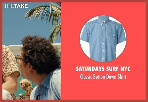 Saturdays Surf NYC blue shirt from Love & Mercy seen with Unknown Actor (Unknown Character)