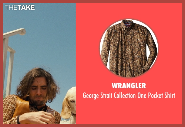 Wrangler brown shirt from Love & Mercy seen with Unknown Actor (Unknown Character)