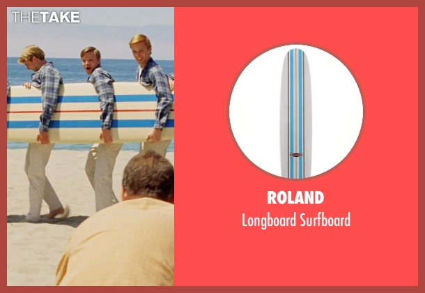 Roland surfboard from Love & Mercy seen with Unknown Actor (Unknown Character)