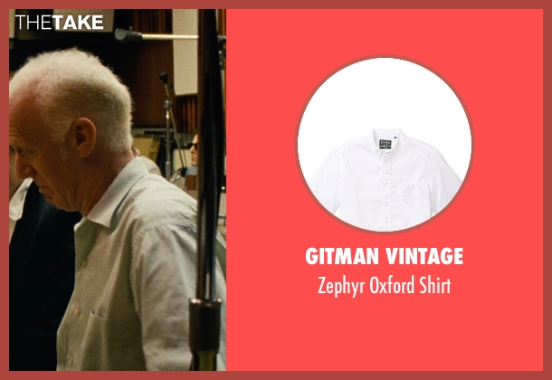Gitman Vintage white shirt from Love & Mercy seen with Unknown Actor (Unknown Character)