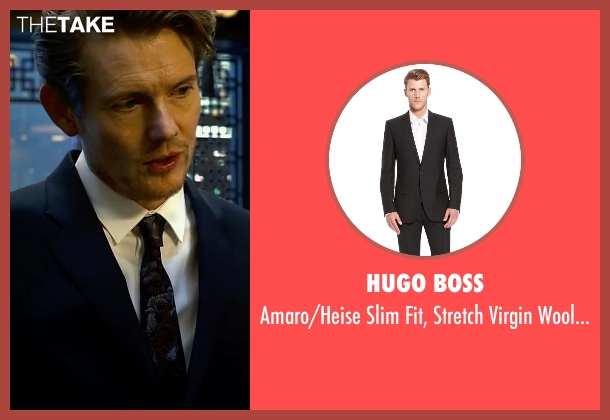 hugo boss amaro heise slim fit stretch virgin wool suit. Black Bedroom Furniture Sets. Home Design Ideas