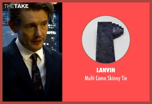 Lanvin black tie from Lucy seen with Unknown Actor (Unknown Character)