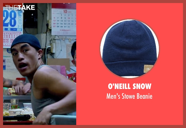 O'Neill Snow blue beanie from Lucy seen with Unknown Actor (Unknown Character)