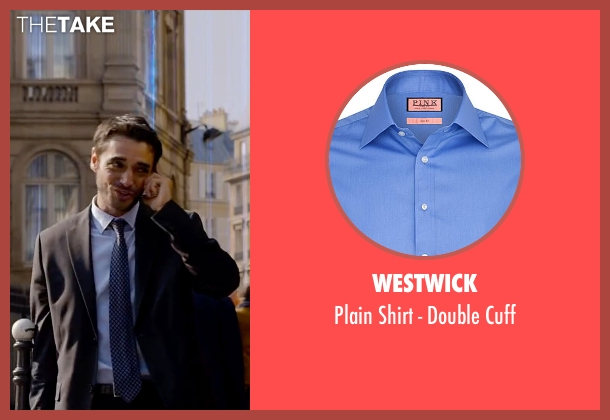 Westwick blue cuff from Lucy seen with Unknown Actor (Unknown Character)