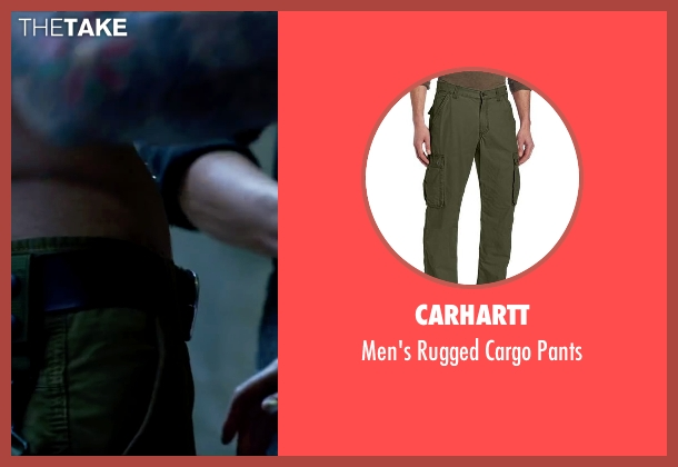Carhartt green pants from Lucy seen with Unknown Actor (Unknown Character)