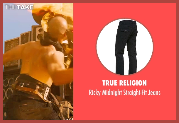 True Religion black jeans from Mad Max: Fury Road seen with Unknown Actor (Unknown Character)