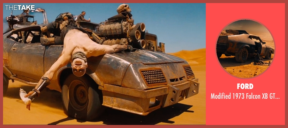 Ford coupe from Mad Max: Fury Road seen with Unknown Actor (Unknown Character)