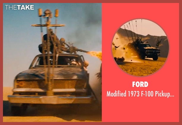 Ford truck from Mad Max: Fury Road seen with Unknown Actor (Unknown Character)