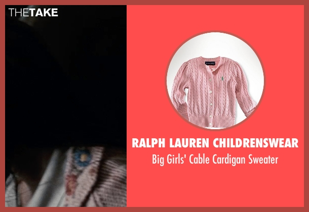 Ralph Lauren Childrenswear pink sweater from Man of Steel seen with Unknown Actor (Unknown Character)