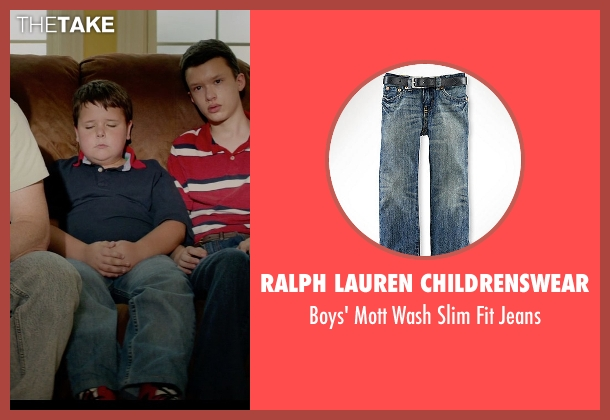 Ralph Lauren Childrenswear blue jeans from Masterminds seen with Unknown Actor (Unknown Character)