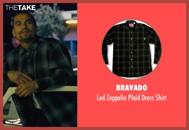 Bravado black shirt from McFarland, USA seen with Unknown Actor (Unknown Character)