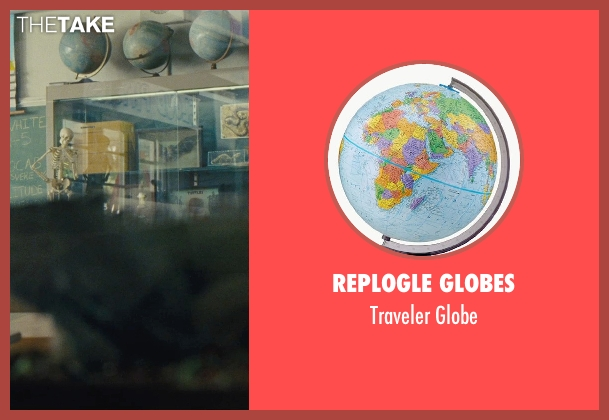 Replogle Globes globe from McFarland, USA seen with Unknown Actor (Unknown Character)