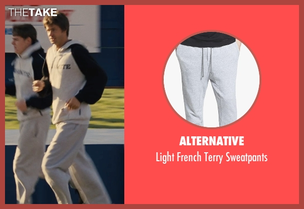 Alternative gray sweatpants from McFarland, USA seen with Unknown Actor (Unknown Character)
