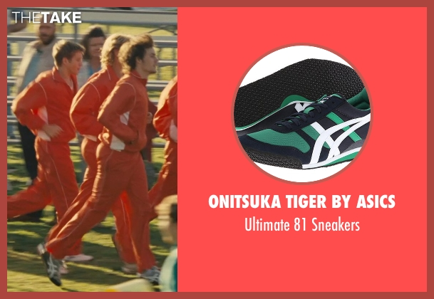 Onitsuka Tiger by Asics green sneakers from McFarland, USA seen with Unknown Actor (Unknown Character)