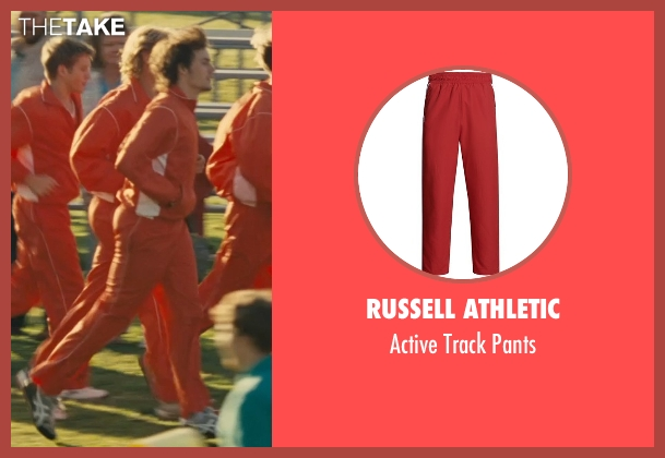 Russell Athletic red pants from McFarland, USA seen with Unknown Actor (Unknown Character)