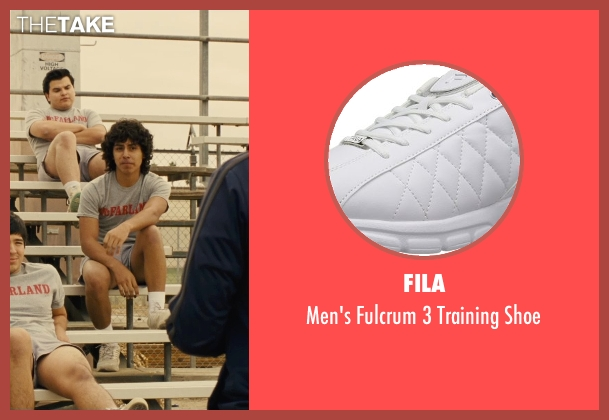 Fila white shoe from McFarland, USA seen with Unknown Actor (Unknown Character)
