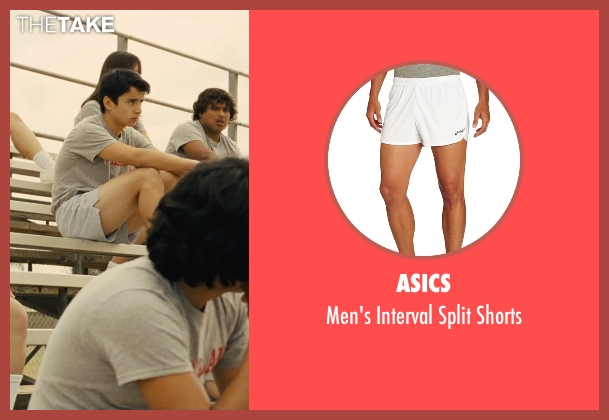 Asics white shorts from McFarland, USA seen with Unknown Actor (Unknown Character)