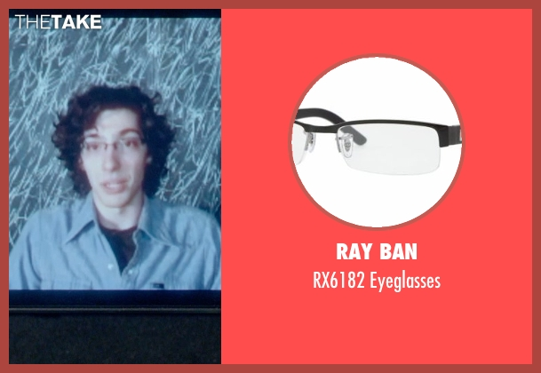 Ray Ban black eyeglasses from Me and Earl and the Dying Girl seen with Unknown Actor (Unknown Character)