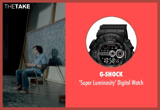 G-Shock black watch from Me and Earl and the Dying Girl seen with Unknown Actor (Unknown Character)