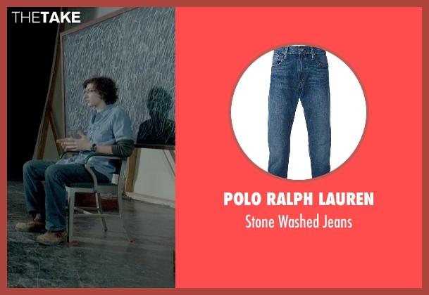 Polo Ralph Lauren blue jeans from Me and Earl and the Dying Girl seen with Unknown Actor (Unknown Character)