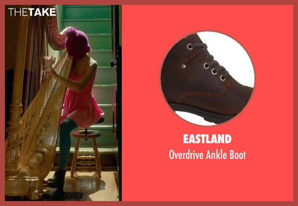 Eastland brown boot from Me and Earl and the Dying Girl seen with Unknown Actor (Unknown Character)