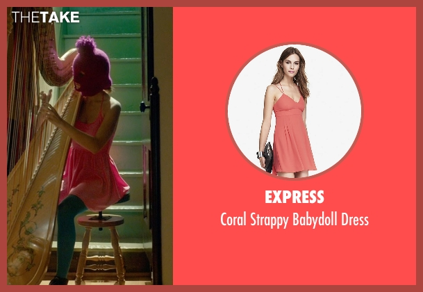 Express pink dress from Me and Earl and the Dying Girl seen with Unknown Actor (Unknown Character)