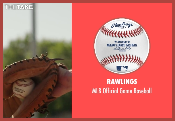 Rawlings baseball from Million Dollar Arm seen with Unknown Actor (Unknown Character)