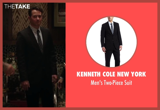Kenneth Cole New York black suit from Million Dollar Arm seen with Unknown Actor (Unknown Character)