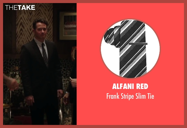 Alfani RED black tie from Million Dollar Arm seen with Unknown Actor (Unknown Character)