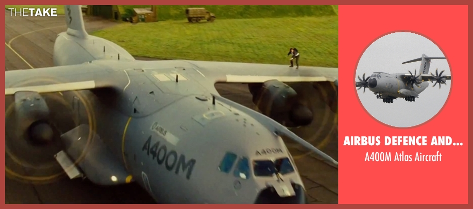 Airbus Defence and Space aircraft from Mission: Impossible - Rogue Nation seen with Unknown Actor (Unknown Character)