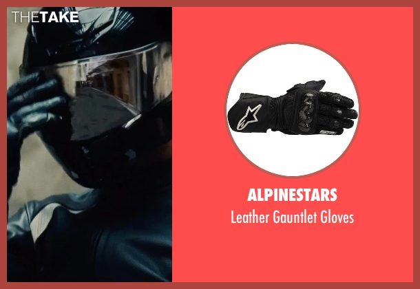 Alpinestars black gloves from Mission: Impossible - Rogue Nation seen with Unknown Actor (Unknown Character)