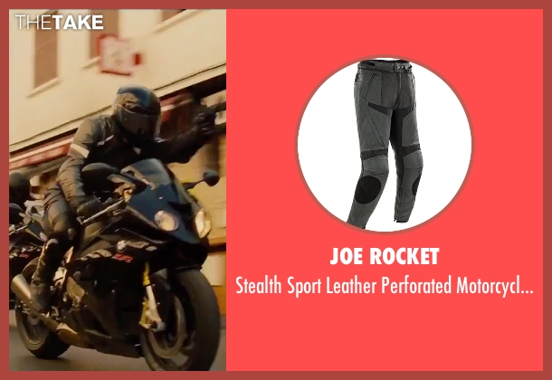 Joe Rocket black pants from Mission: Impossible - Rogue Nation seen with Unknown Actor (Unknown Character)