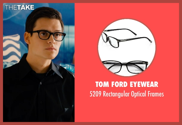 Tom Ford Eyewear black frames from Mortdecai seen with Unknown Actor (Unknown Character)