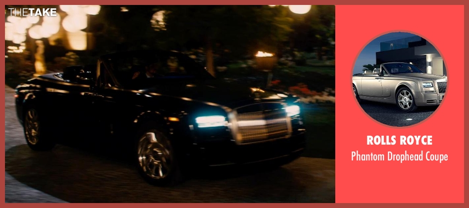 Rolls Royce coupe from Mortdecai seen with Unknown Actor (Unknown Character)