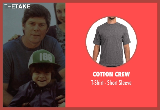 Cotton Crew gray sleeve from Need for Speed seen with Unknown Actor (Unknown Character)