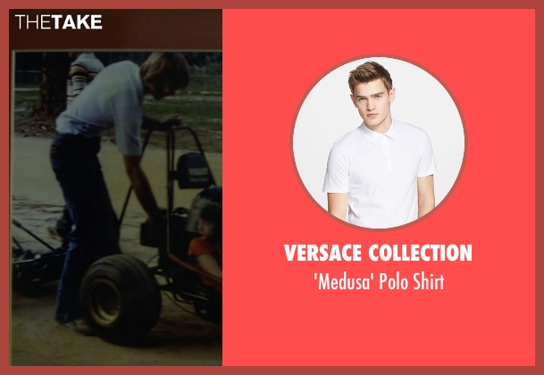 Versace Collection white shirt from Need for Speed seen with Unknown Actor (Unknown Character)