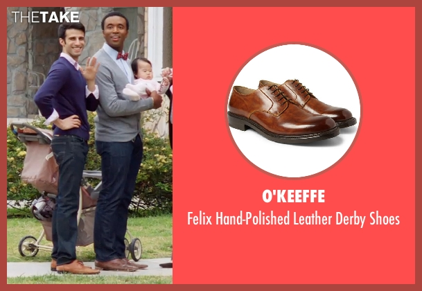 O'Keeffe brown shoes from Neighbors seen with Unknown Actor (Unknown Character)
