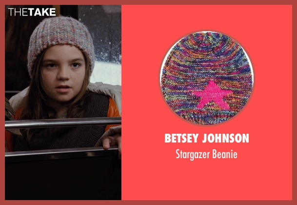 Betsey Johnson beanie from Night at the Museum: Secret of the Tomb seen with Unknown Actor (Unknown Character)