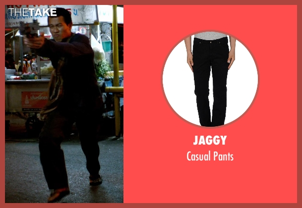 Jaggy black pants from Only God Forgives seen with Unknown Actor (Unknown Character)