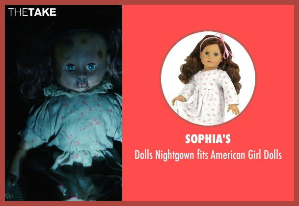 Sophia's dolls from Ouija seen with Unknown Actor (Unknown Character)