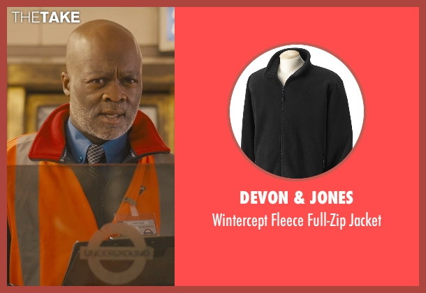 Devon & Jones black jacket from Paddington seen with Unknown Actor (Unknown Character)