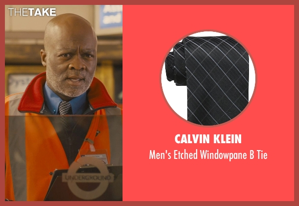 Calvin Klein black tie from Paddington seen with Unknown Actor (Unknown Character)