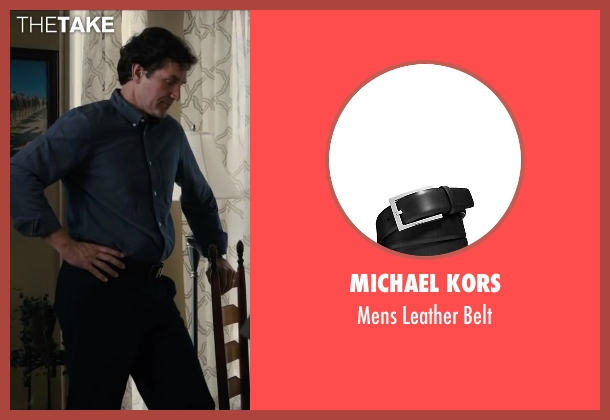Michael Kors black belt from Paper Towns seen with Unknown Actor (Unknown Character)