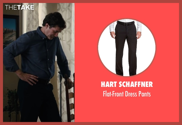 Hart Schaffner black pants from Paper Towns seen with Unknown Actor (Unknown Character)