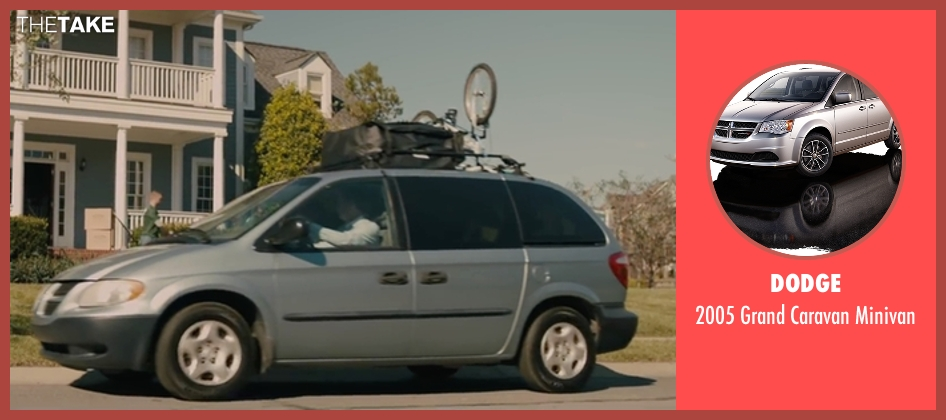 Dodge minivan from Paper Towns seen with Unknown Actor (Unknown Character)