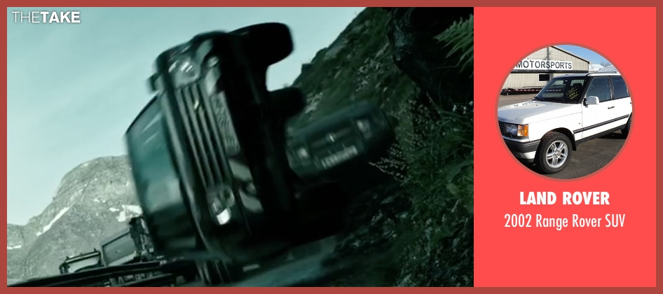 Land Rover suv from Point Break seen with Unknown Actor (Unknown Character)